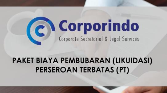 Paket Biaya Pembubaran PT (Update May 2019)